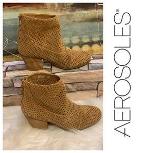 Aerosols brown leather boot